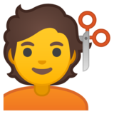 Person Getting Haircut on Google Android 10.0 March 2020 Feature Drop