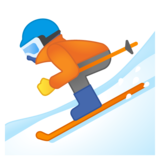 Skier on Google Android 10.0 March 2020 Feature Drop