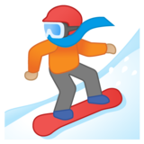 Snowboarder: Medium-Light Skin Tone on Google Android 10.0 March 2020 Feature Drop