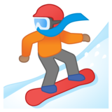 Snowboarder: Medium Skin Tone on Google Android 10.0 March 2020 Feature Drop