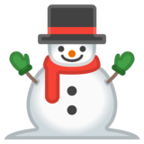 Snowman Without Snow on Google Android 10.0 March 2020 Feature Drop