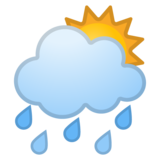 Sun Behind Rain Cloud on Google Android 10.0 March 2020 Feature Drop