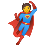 Superhero on Google Android 10.0 March 2020 Feature Drop