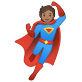 Superhero: Medium Skin Tone on Google Android 10.0 March 2020 Feature Drop