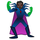 Supervillain: Dark Skin Tone on Google Android 10.0 March 2020 Feature Drop