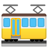 Tram Car on Google Android 10.0 March 2020 Feature Drop