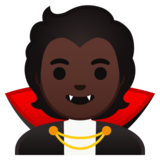 Vampire: Dark Skin Tone on Google Android 10.0 March 2020 Feature Drop