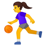 Woman Bouncing Ball on Google Android 10.0 March 2020 Feature Drop