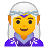 Woman Elf on Google Android 10.0 March 2020 Feature Drop