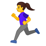 Woman Running on Google Android 10.0 March 2020 Feature Drop