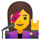 Woman Singer on Google Android 10.0 March 2020 Feature Drop
