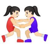 Women Wrestling, Type-1-2 on Google Android 10.0 March 2020 Feature Drop
