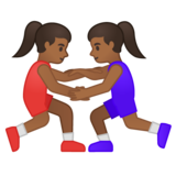 Women Wrestling, Type-5 on Google Android 10.0 March 2020 Feature Drop