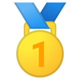 1st Place Medal on Google Android 11.0