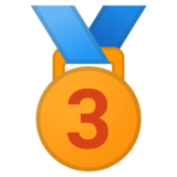 3rd Place Medal on Google Android 11.0