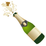 Bottle with Popping Cork on Google Android 11.0