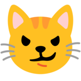 Cat with Wry Smile on Google Android 11.0