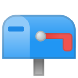 Closed Mailbox with Lowered Flag on Google Android 11.0