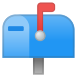 Closed Mailbox with Raised Flag on Google Android 11.0