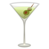 Cocktail Glass on Google Android 11.0