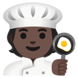 Cook: Dark Skin Tone on Google Android 11.0