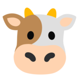 Cow Face on Google Android 11.0