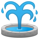Fountain on Google Android 11.0