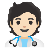 Health Worker: Light Skin Tone on Google Android 11.0
