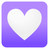 Heart Decoration on Google Android 11.0