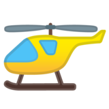 Helicopter on Google Android 11.0