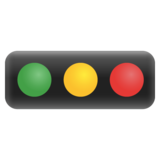 Horizontal Traffic Light on Google Android 11.0