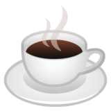 Hot Beverage on Google Android 11.0
