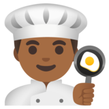 Man Cook: Medium-Dark Skin Tone on Google Android 11.0