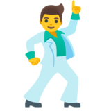 Man Dancing on Google Android 11.0
