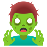 Man Zombie on Google Android 11.0