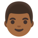 Man: Medium-Dark Skin Tone on Google Android 11.0