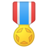 Military Medal on Google Android 11.0