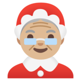 Mrs. Claus: Medium-Light Skin Tone on Google Android 11.0