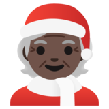 Mx Claus: Dark Skin Tone on Google Android 11.0