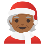 Mx Claus: Medium-Dark Skin Tone on Google Android 11.0
