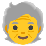 Older Person on Google Android 11.0