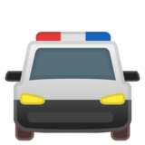 Oncoming Police Car on Google Android 11.0