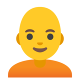 Person: Bald on Google Android 11.0
