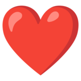 Red Heart on Google Android 11.0