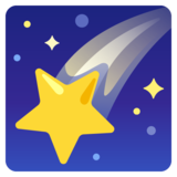 Shooting Star on Google Android 11.0
