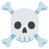 Skull and Crossbones on Google Android 11.0