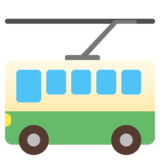 Trolleybus on Google Android 11.0