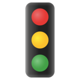 Vertical Traffic Light on Google Android 11.0