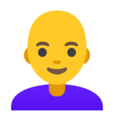 Woman: Bald on Google Android 11.0