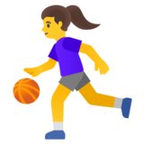 Woman Bouncing Ball on Google Android 11.0